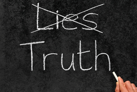 To know the truth, seek the truth