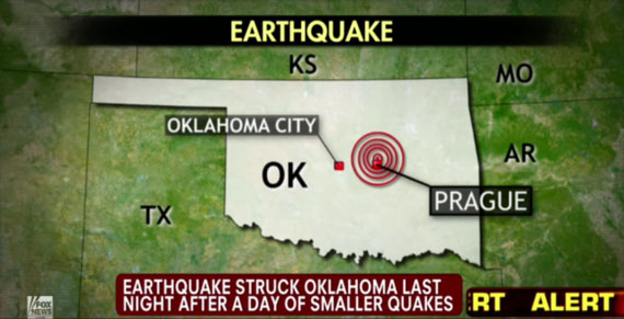 Oklahoma-Earthquake