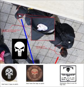 "Skull hat's worn  by these Xe/Blackwater operatives at the Boston Marathon bombings were also a part of the terror exercise ""Operation Urban Thunder""..."
